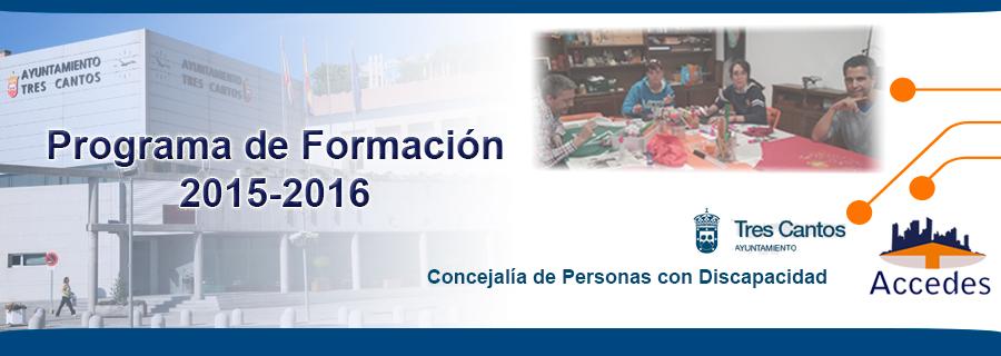 ACCEDES comienza un Programa de Formación para personas con discapacidad intelectual con el Ayuntamiento de Tres Cantos