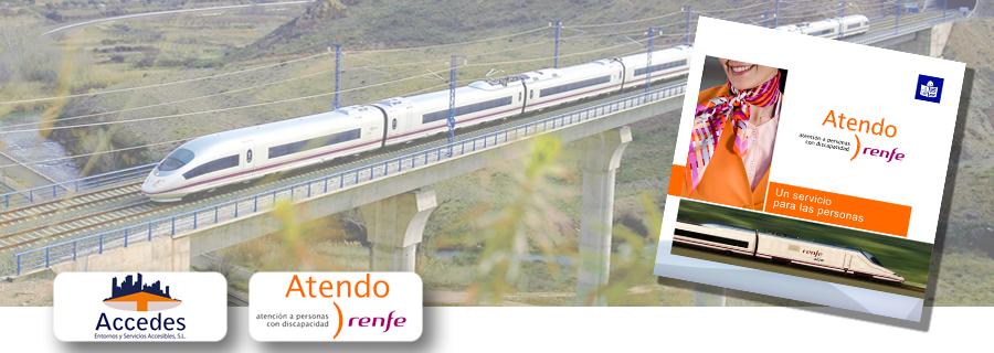 Renfe inicia el año 2016 con una nueva guía de ayuda a las personas.