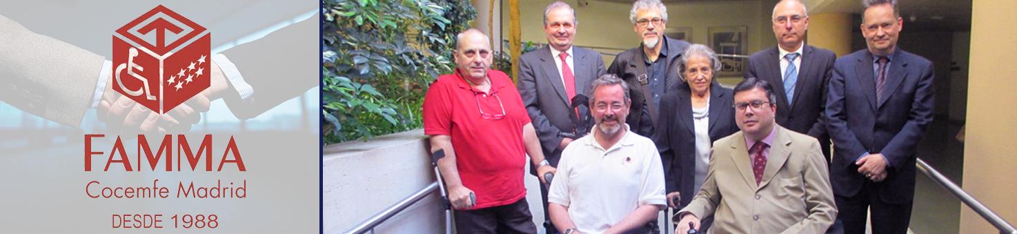 Manuel Rancés, socio de ACCEDES, sale reelegido como Secretario de Accesibilidad en FAMMA. Fuente de la imagen: FAMMA