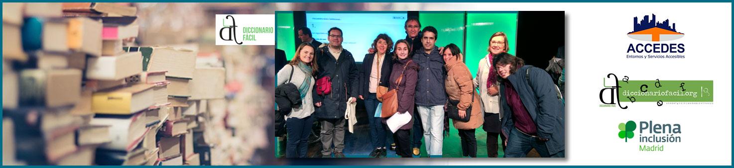 Grupo ASI MEJOR en la presentación del Diccionario Fácil