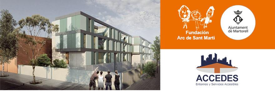 Inician las obras de la Residencia de Martorell para personas con discapacidad intelectual