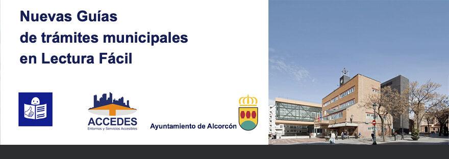 Ya está disponible la Guía de Trámites Municipales de Alcorcón en Lectura fácil.