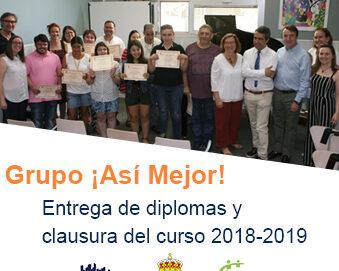 El programa ¡Así Mejor! celebra el fin de curso 2018-2019