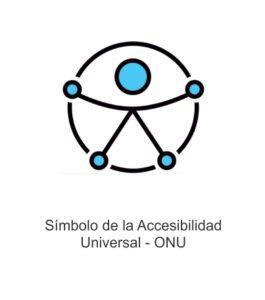 Simbolo Accesibilidad universal ONU