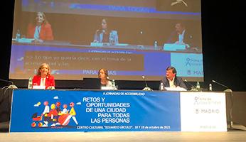 II Jornadas Accesibilidad Ayuntamiento de Madrid